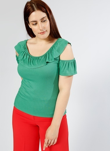 Random Tişört Yeşil